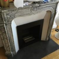 Foyer ancienne cheminée sur mesure